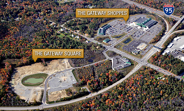 Aerial of the Gateway Development
