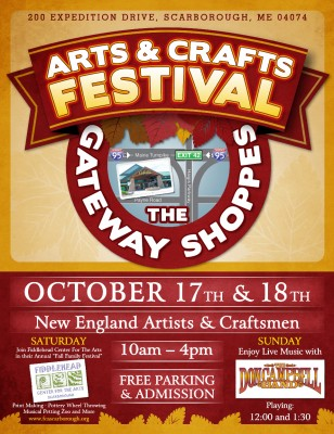 the gateway shoppes at scarborough    arts and crafts festival