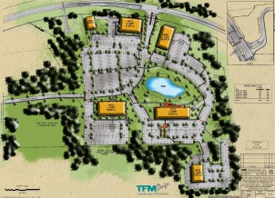 Gateway Square Site Plan